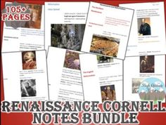 This bundle includes all the Cornell notes style lectures / notes needed for an engaging and effective unit covering the Renaissance in World History. Study guide and unit assessment / test included. Renaissance And Reformation, Test Exam, Modern World History, Protestant Reformation, Cornell Notes, Organizational Chart, Unit Plan, Work Activities, Group Work