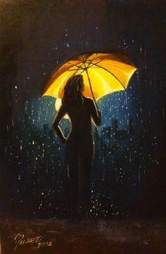 Celebrating rain