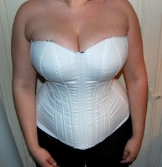 overbust corset with a large bust - how to adjust the pattern