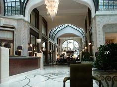 4º lugar - Four Seasons Hotel Gresham Palace em Budapeste, Hungria