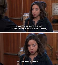 Parks And Recreation, Parks And Rec Quotes, April Ludgate Quotes, April Quotes, Parcs And Rec, Plus Tv, Leslie Knope, Aubrey Plaza, Getting Drunk