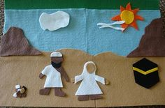 Hajj season's here! I strongly believe that the best way to introduce the concept of Hajj to children is through crafts and activities. I wanted to share with you this an …