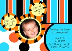 Printable digital design tigger party by kiddiecreations1 on etsy personalized tigger birthday invitation boy or by printablesbybeth 400 filmwisefo Gallery