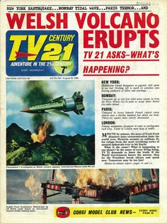 2 days to go!covers and strips from TV Century 21
