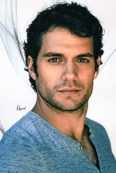 Henry Cavill … there is no good reason why he is this ridiculously fine. Good Lord!
