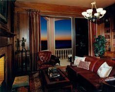 Den in a home built by Southwest Florida home builder Daniel Wayne Homes.