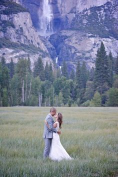 Photography: Jenna Norman Photography - jennanormanphotography.com  Read More: http://www.stylemepretty.com/california-weddings/2014/04/19/intimate-destination-wedding-at-yosemite-national-park/