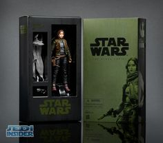 Hasbro Slips In One More SDCC Star Wars Exclusive With Black Series Rogue One Jyn Erso #StarWars