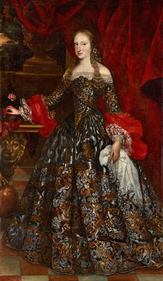 Mariana of Neuburg, Queen of Spain, from 1689 to 1700 by Claudio Coello;