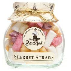 Mrs Bridges Sherbert Straws > British Isles