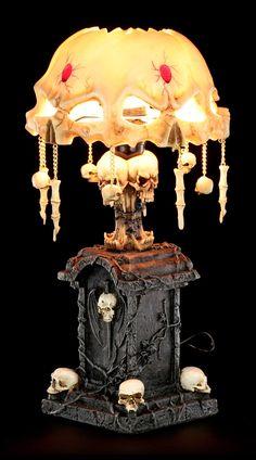 Image of 'Goliath' Pendant Skull Lamp.   Indoor Porches ...