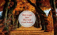 Getting into graduate school?