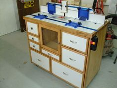 Router Table Cabinet - by TIS @ LumberJocks.com ~ woodworking community