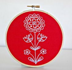Swedish embroidery