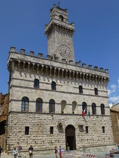 Yet another day trip :)  Montepulciano, Italy