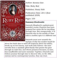Moonlight Reader Ruby Red By Kerstin Gier