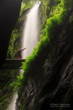 Cascada de Los Tilos, Isla de La Palma. Islas Canarias Spain  by Saul Santos Diaz