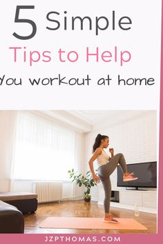 Easy to follow tips to help you improve your home workouts along with several follow along workouts. If you are in a slump with working out at home read these tips to help you get started. Fitness Tips For Women, Health And Fitness Tips, Fitness Goals, Women's Fitness, Home Exercise Routines, At Home Workouts, Daily Routines, Weights Workout For Women, Healthy Morning Routine