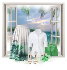 """""""Summer"""" by styledonna ❤ liked on Polyvore featuring Tory Burch, Chicwish and Steffen Schraut"""