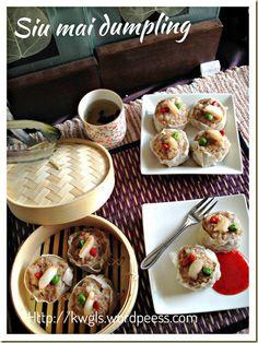 Siu Mai Dumplings and Prawn Dumplings