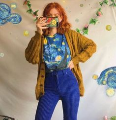 23 unforgettable fashion trends that are popular nowadays 11 Fashion Fashion Nowadays Popular Trends Unforgettable Vintage Outfits, Retro Outfits, Grunge Outfits, Vintage Fashion, Fashion 90s, Look Fashion, Fashion Outfits, Fashion Trends, Thrift Fashion