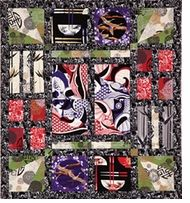 The Flight of the Geisha Free Quilt Pattern