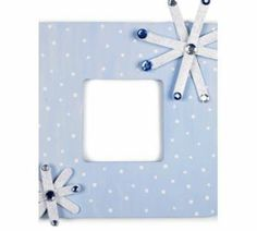 Snowflake frame for non holiday gift