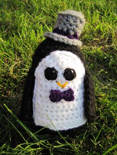 Crochet Penguin Groom !~ Design idea