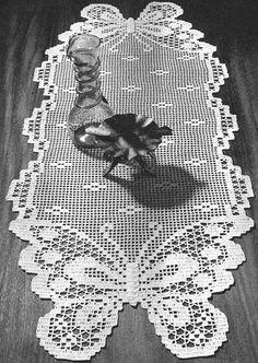 crochet em revista: motivos borboletas