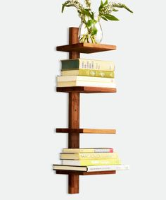 Unobtrusive book storage that lets the books get the attention.