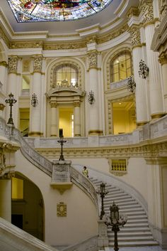 Staircase, Museo Nacional de Bellas Artes, Havana, Cuba