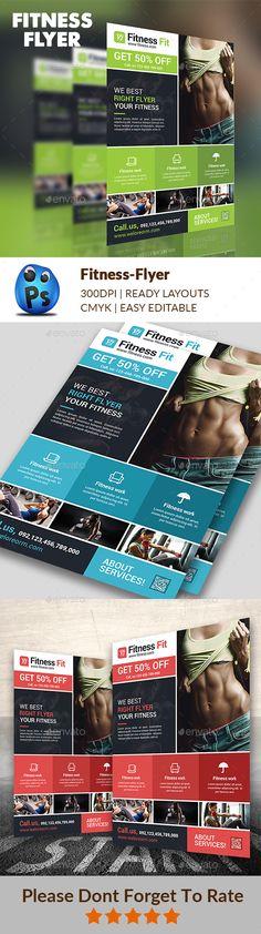 Fitness Flyer Vol10 Font logo