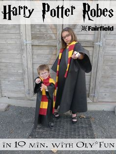 Easy Oly*Fun Harry Potter Costume w/ No-Sew Option byPolly fromPieces by Polly, and I'm back guest blogging for Fairfield with another Happy Harry Potter post today as part of the Happy Harry Potter Series at Raegun Ramblings. Lots of bloggers will be sharing new Harry Potter themed projects everyday for the next week and a [...]