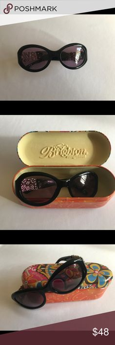 Brighton Love Daisy Sunglasses The sleek black frames on these glamorous sunglasses are beautifully adorned with jewelry-like accents, making them perfect for any occasion .  Ratedwith 100% UVA/UVB protection, too! Brighton Accessories Sunglasses