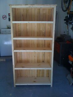 Rustic style bookcase - Kreg Jig Owners Community