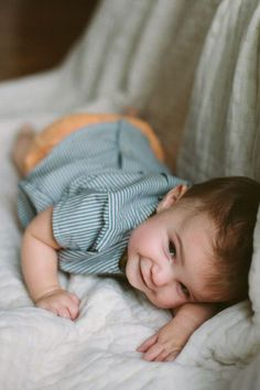 Babies have the sweetest smiles ♥