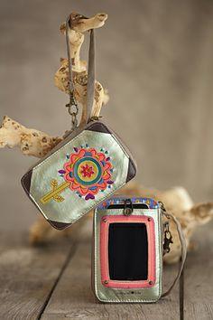 Natural Life phone wristlet