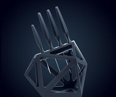 Black Diamond Knife Block – Edge of Belgravia
