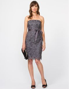 Cocktail Dresses - Shop the chicest cocktail dresses for all occasions at Le Chateau. Make a dramatic entrance with this season's thrilling party dresses. Lace Dress, Strapless Dress, Dress Up, Dress Outfits, Cool Outfits, Vegas Dresses, Mode Chic, Costume, Cute Dresses