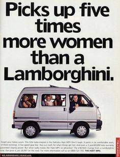 Funny ~ retro car ad