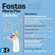 La Orquesta de Niñas y Niños «Son Futuro» de la Sinfónica de Galicia y su «Coro Novo» actúan esta tarde, a las 17.30 horas, en las fiestas de #MaríaPita16.