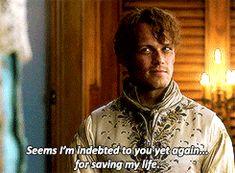 "ladyofglencairn: ""Goodbye, John. Goodbye Jamie. "" Outlander Gifs, Serie Outlander, Sam Heughan Outlander, Diana Gabaldon, Sam Hueghan, Lord John, Sam And Cat, Epic Story, Jamie And Claire"