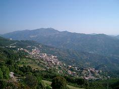 Veduta di Jerzu dall'alto (foto Comune di Jerzu)
