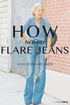 Wondering the best ways to style your new flare denim this season? Check out all of these tips for how to wear flare jeans! What's your favorite style? Are you already a flare jean fan?