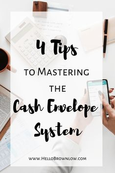 4 Steps to Mastering the Cash Envelope System Budgeting System, Budgeting Finances, Budgeting Tips, Envelope Budget System, Cash Envelope System, Budget Sheets, Budget Binder, Cash Envelopes, Financial Peace