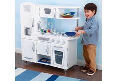 Kidkraft Retro Weiß Spielküche Kinderküche