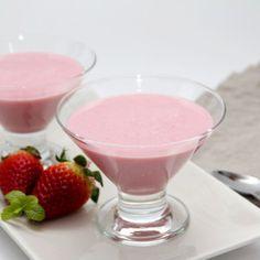 Vista previa del artículo Mousse de fresas y hierbabuena