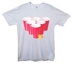 Beer Pong Red Cups T-Shirt