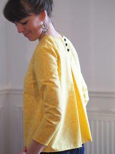 Blouse Violette de Dessine moi un patron #couture #sew #sewing #top #blouseviolette