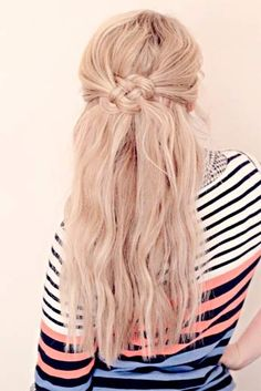 Cute Back-to-School Hairstyles for a Cute Youthful Look #hairstyles #haircuts